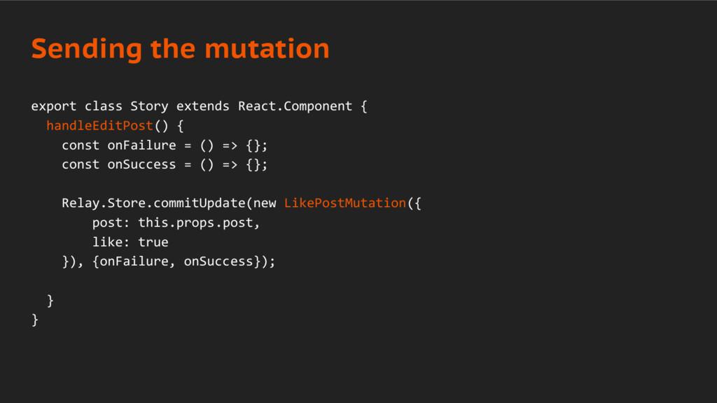 export class Story extends React.Component { ha...