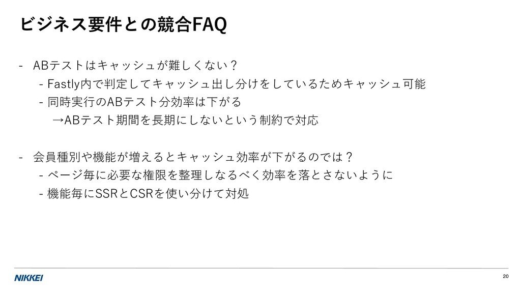 ビジネス要件との競合FAQ - ABテストはキャッシュが難しくない? - Fastly内で判定...