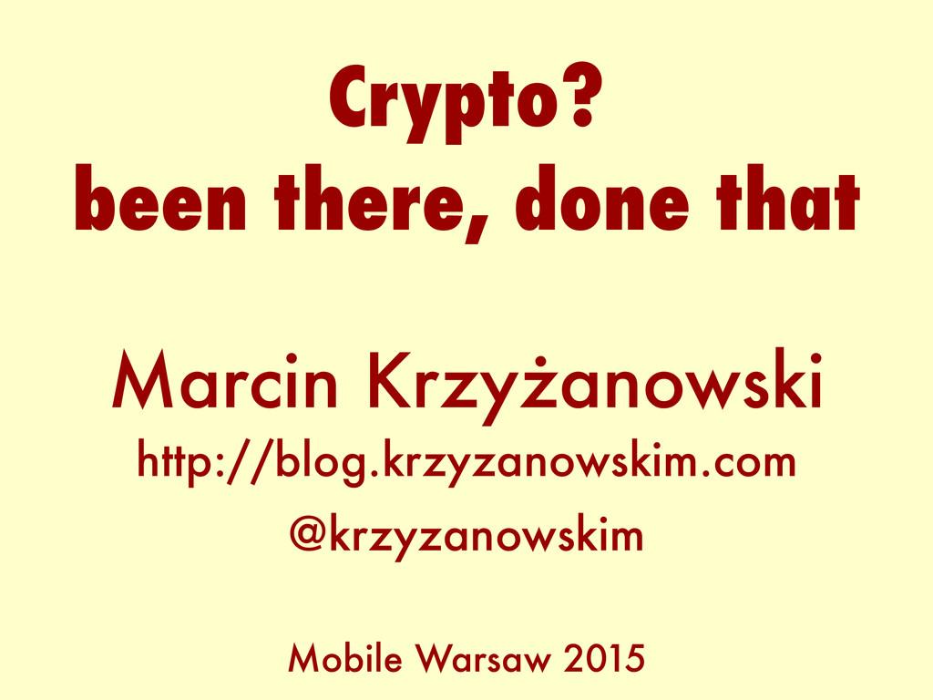 Marcin Krzyżanowski http://blog.krzyzanowskim.c...