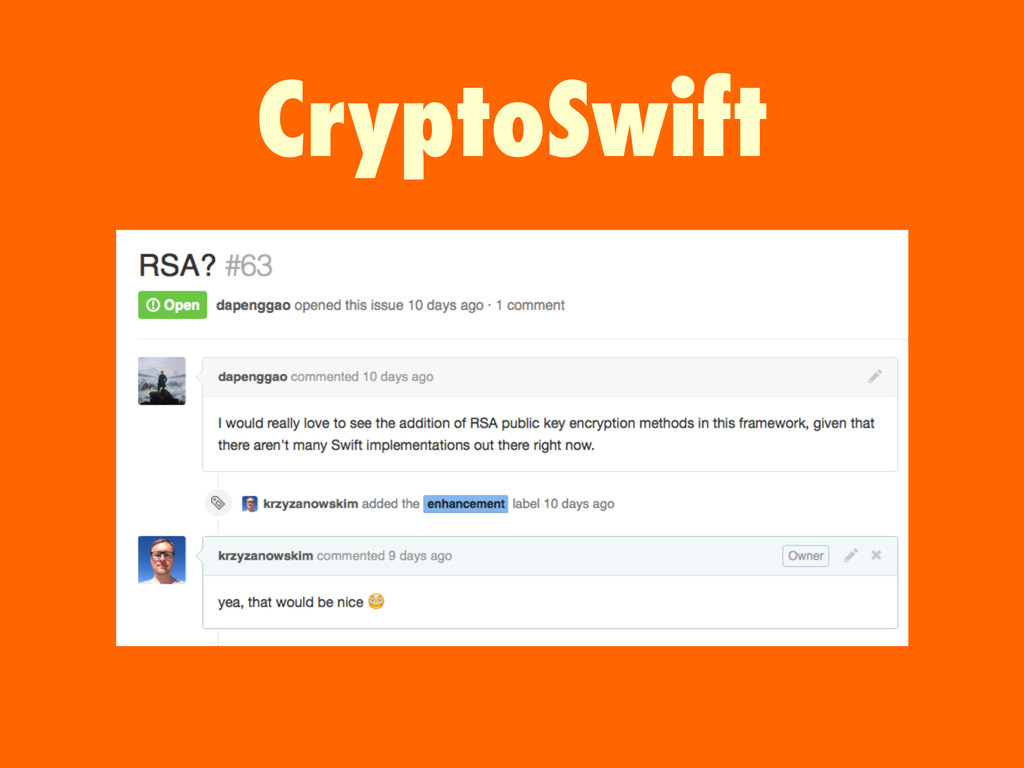 CryptoSwift