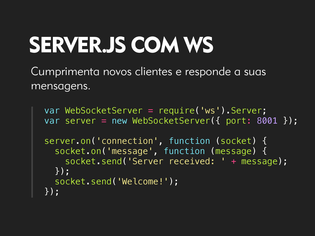 var WebSocketServer = require('ws').Server; var...