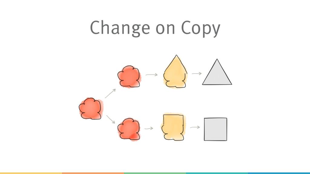 Change on Copy