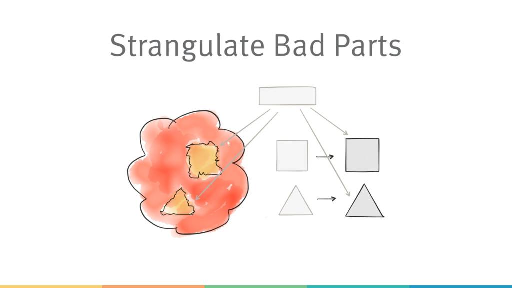 Strangulate Bad Parts