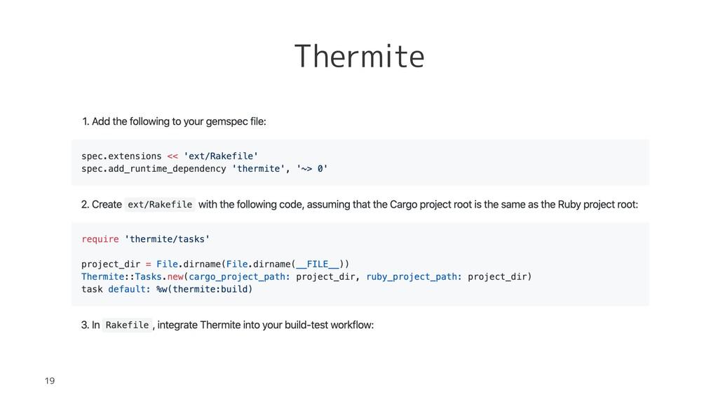 Thermite 19