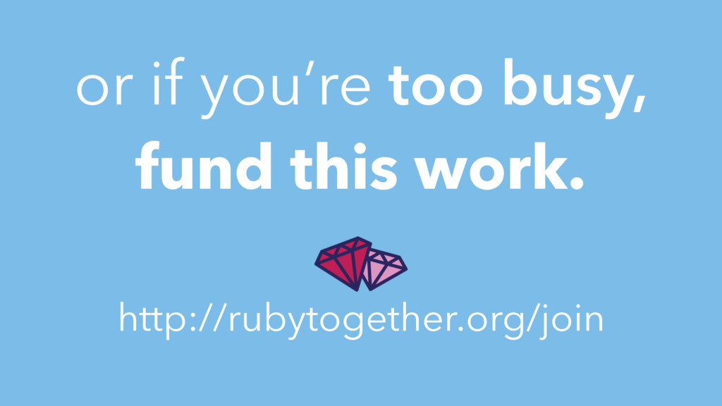 or if you're too busy, fund this work. http://r...