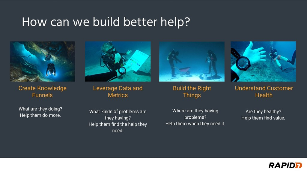How can we build better help? What are they doi...