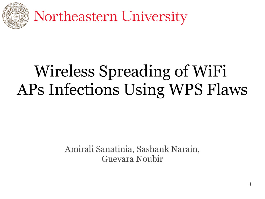 1 Wireless Spreading of WiFi APs Infections Usi...