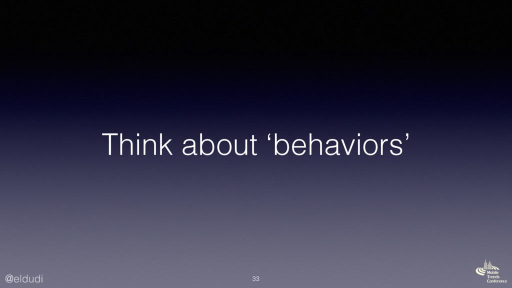 @eldudi Think about 'behaviors' 33