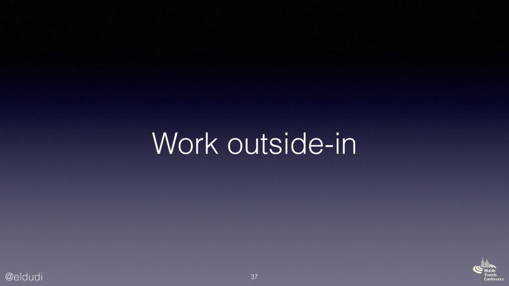 @eldudi Work outside-in 37