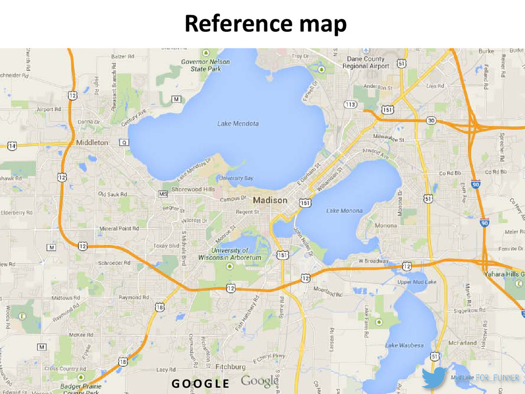 Reference map G O O G L E