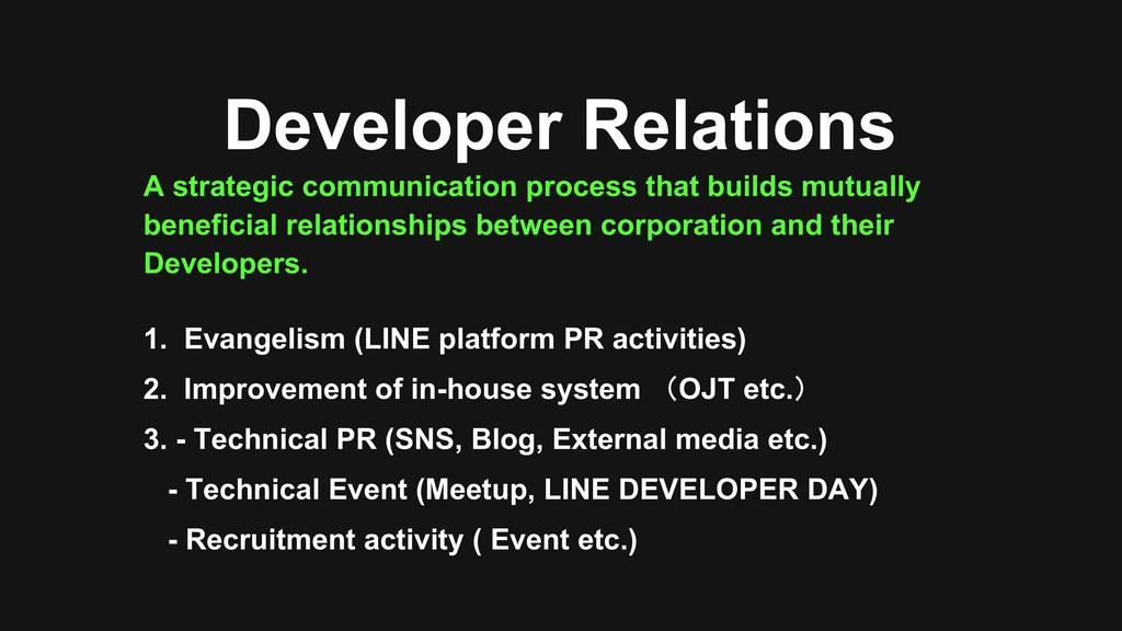 A strategic communication process that builds m...