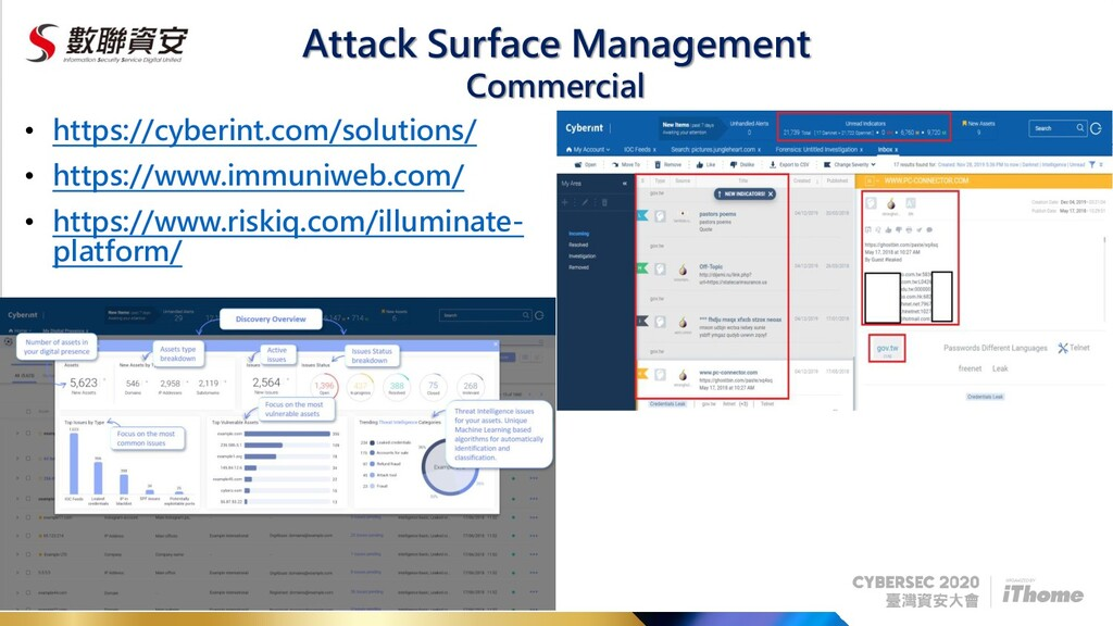 Attack Surface Management • https://cyberint.co...