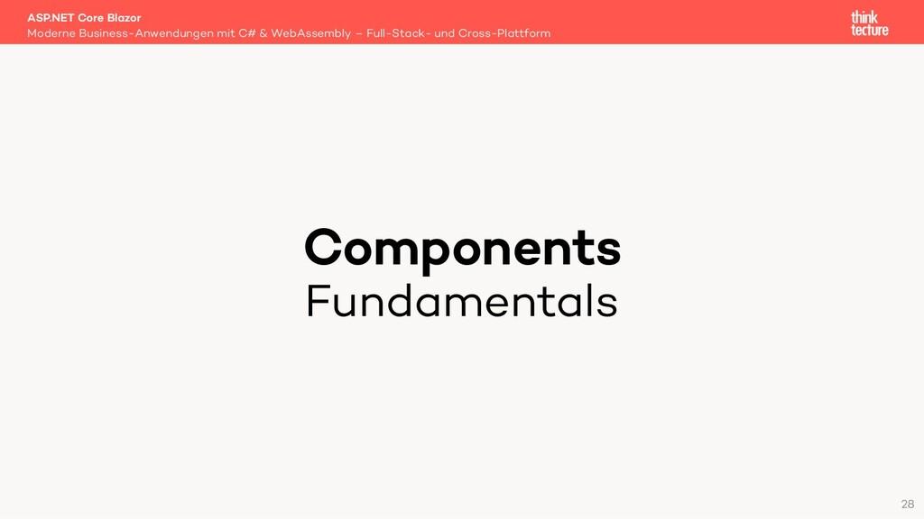 Components Fundamentals Moderne Business-Anwend...