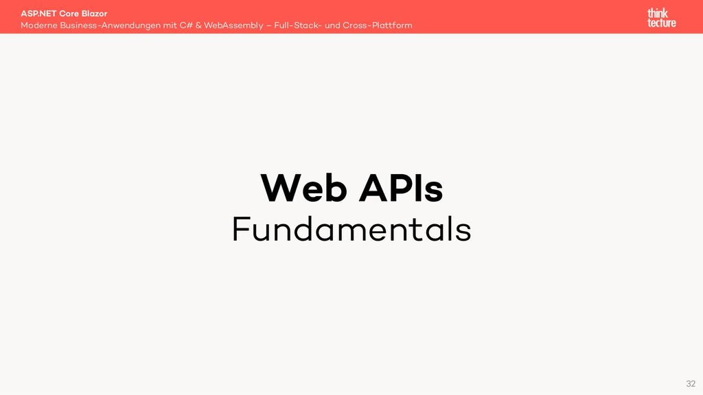 Web APIs Fundamentals Moderne Business-Anwendun...
