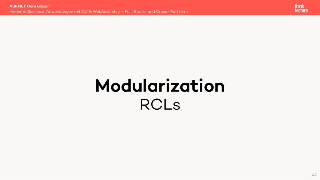 Modularization RCLs Moderne Business-Anwendunge...