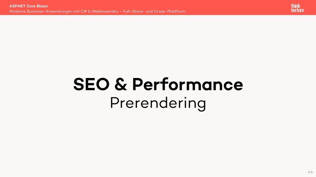 SEO & Performance Prerendering Moderne Business...