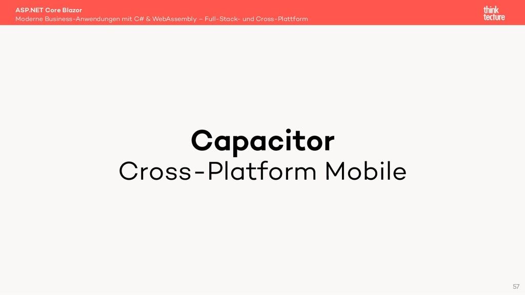 Capacitor Cross-Platform Mobile Moderne Busines...