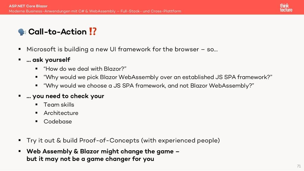 71 § Microsoft is building a new UI framework f...
