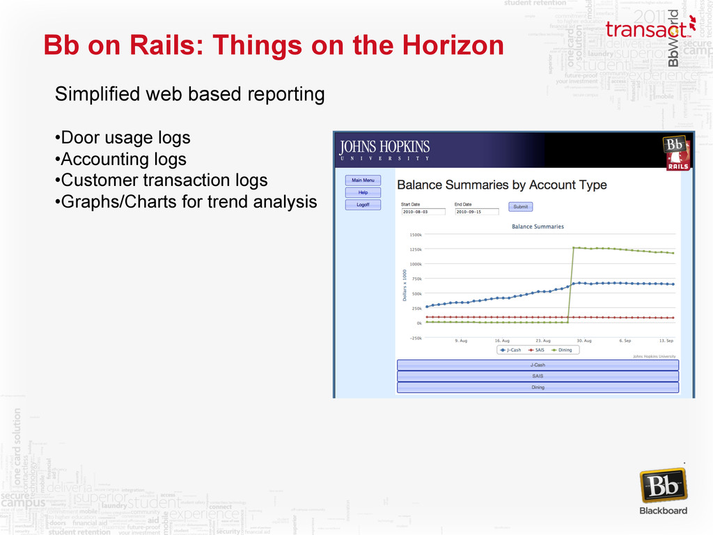 Bb on Rails: Things on the Horizon Simplified w...