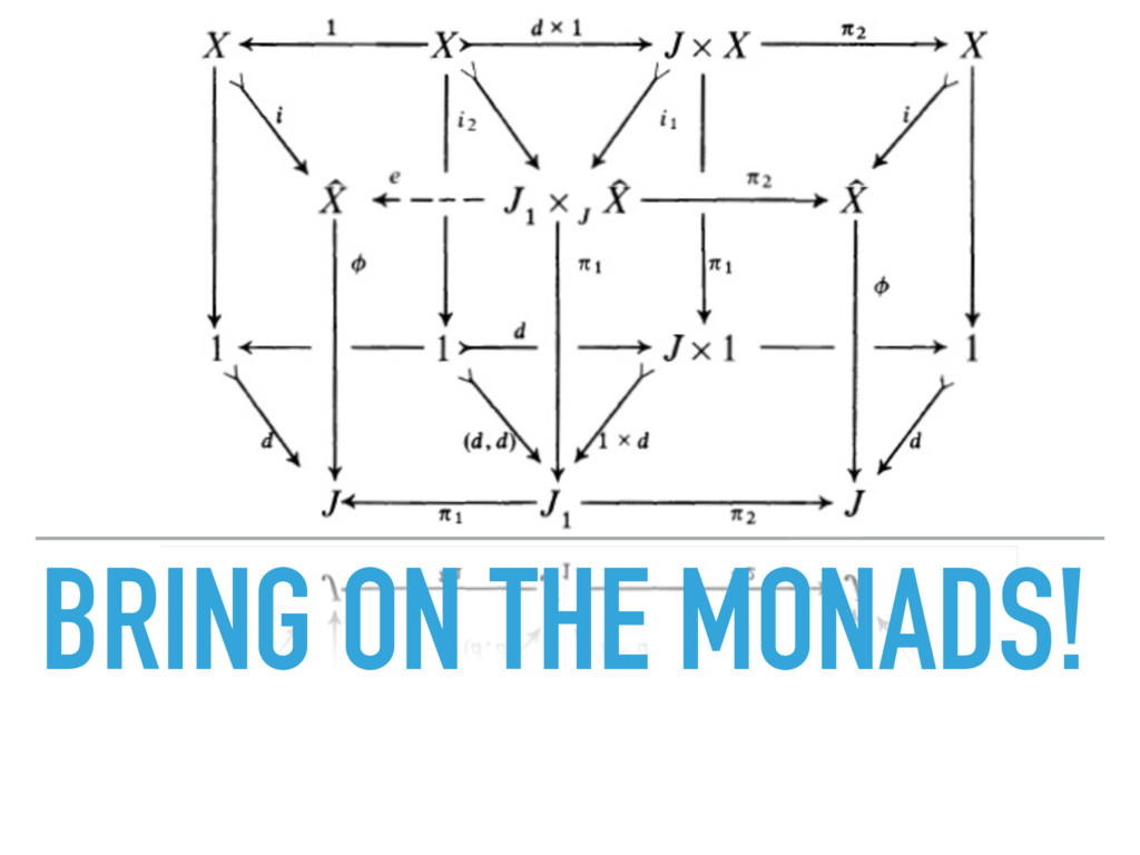BRING ON THE MONADS!