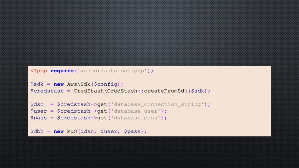 <?php require('vendor/autoload.php'); $sdk = ne...