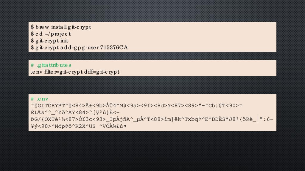 "# .env DATABASE_CONNECTION_STRING=""mysql:dbname..."