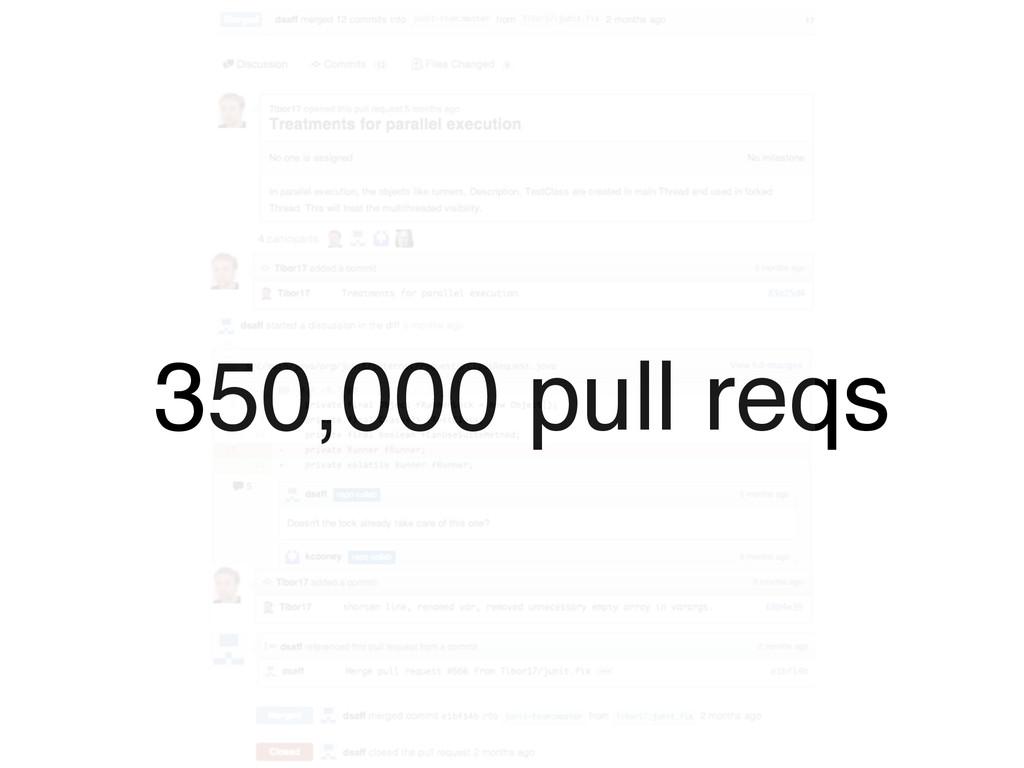 350,000 pull reqs