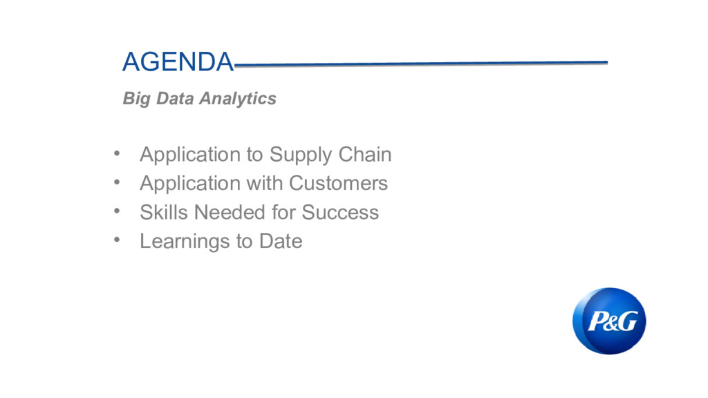 • Application to Supply Chain • Application wit...