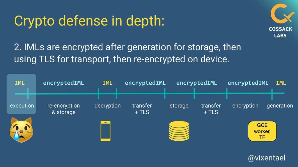 @vixentael Crypto defense in depth: GCE worker,...
