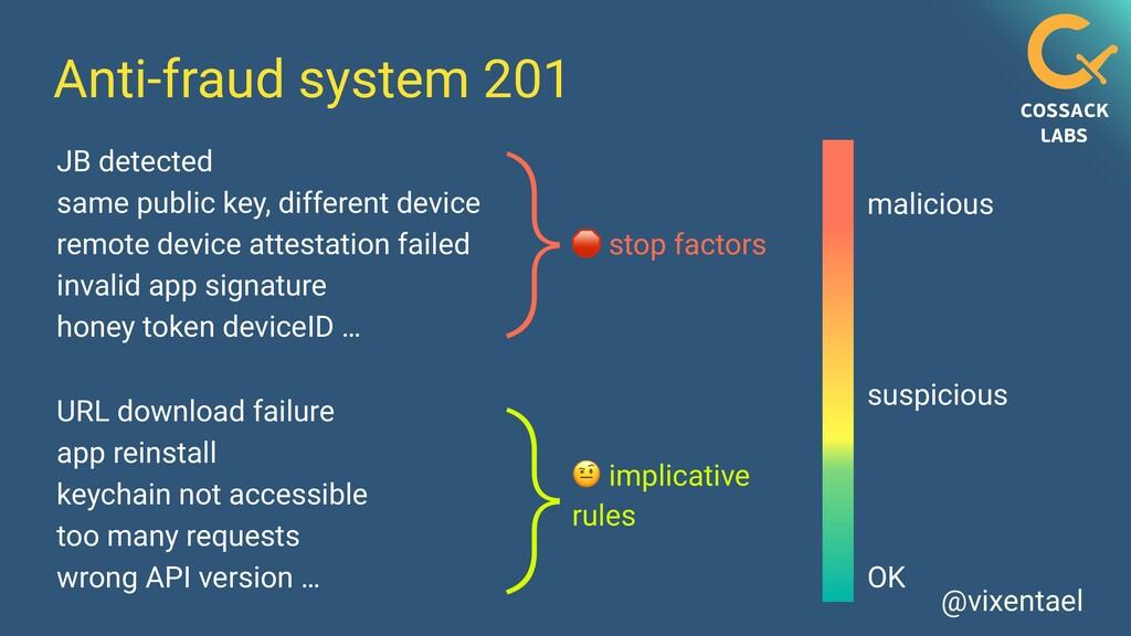 @vixentael Anti-fraud system 201 JB detected sa...