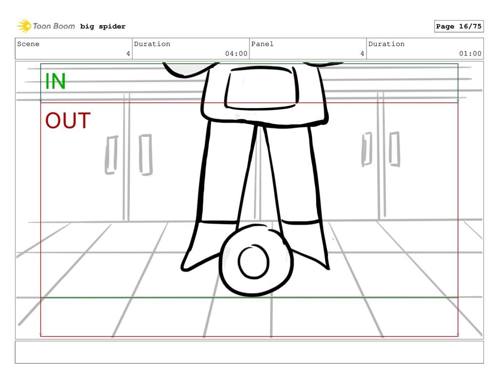 Scene 4 Duration 04:00 Panel 4 Duration 01:00 b...