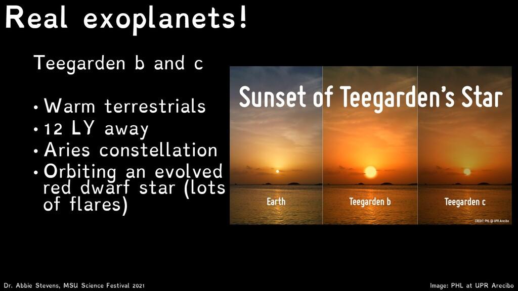 Teegarden b and c • Warm terrestrials • 12 LY a...