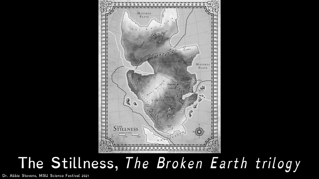 The Stillness, The Broken Earth trilogy Dr. Abb...