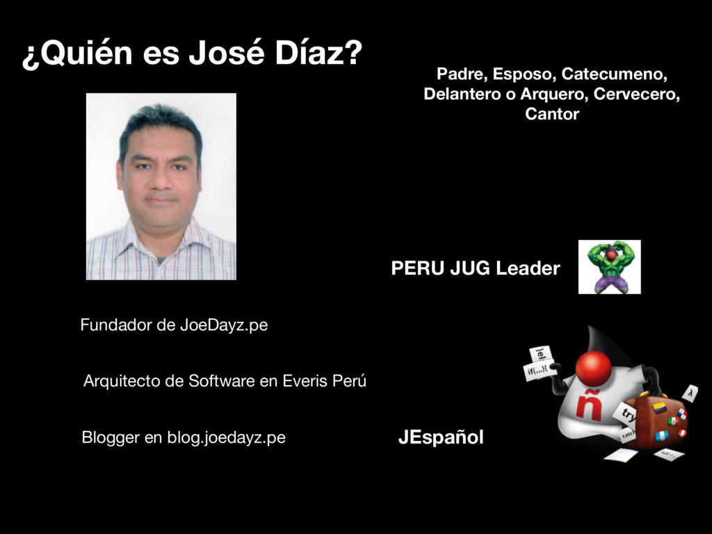 ¿Quién es José Díaz? Fundador de JoeDayz.pe Arq...