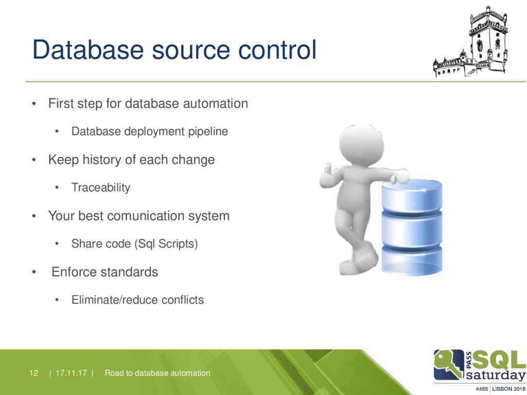 Database source control • First step for databa...