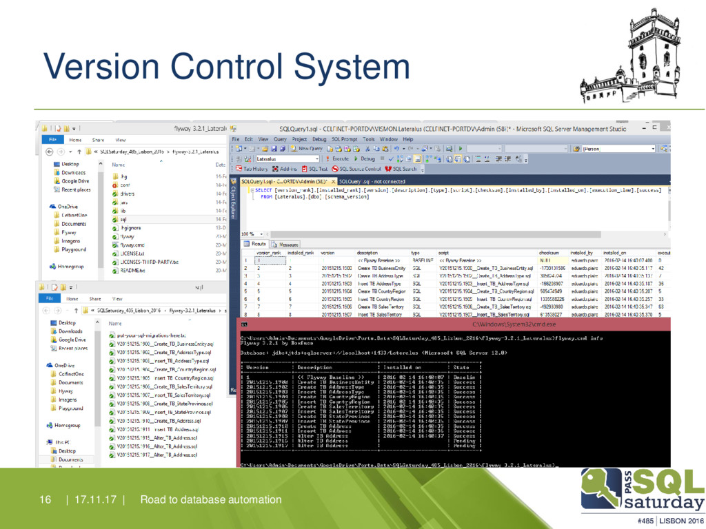 Version Control System Road to database automat...