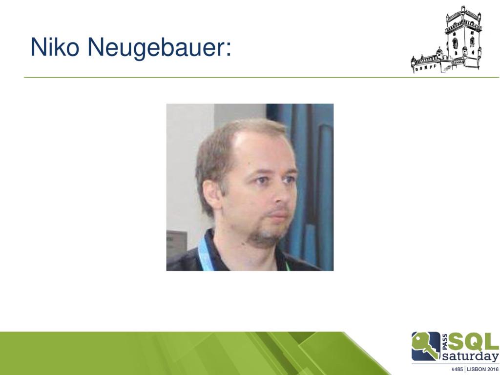 Niko Neugebauer: