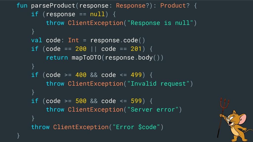 fun parseProduct(response: Response?): Product?...