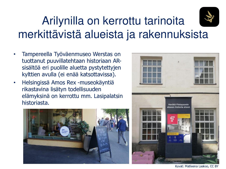 Arilyn herättää eloon Finlaysonin alueen histor...