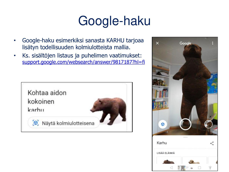 Google-kääntäjä (Android, iOS) • Valitse kielet...