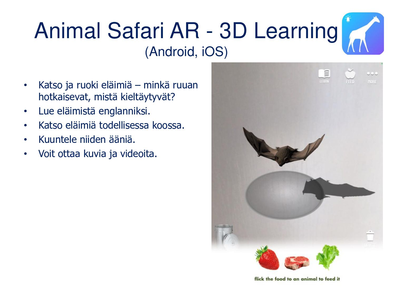 ARMolVis (Android, iOS) Sovellus havainollistaa...