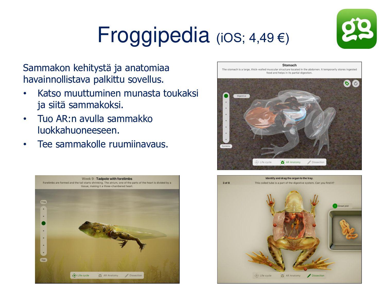 Merge Cube (Android, iOS) Tarvitset Merge-kuuti...