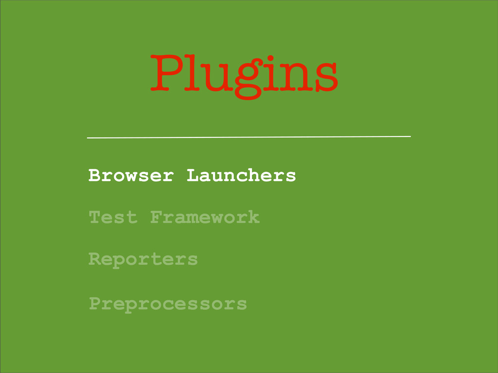 Plugins Browser Launchers Test Framework Report...