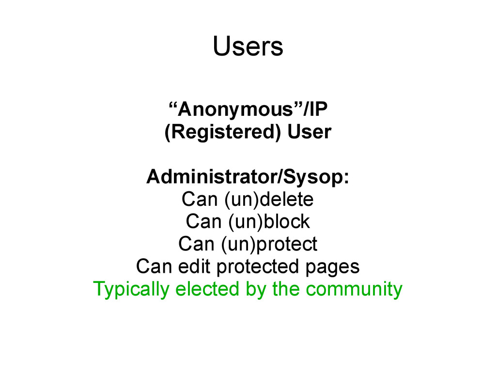 "Users ""Anonymous""/IP (Registered) User Administ..."