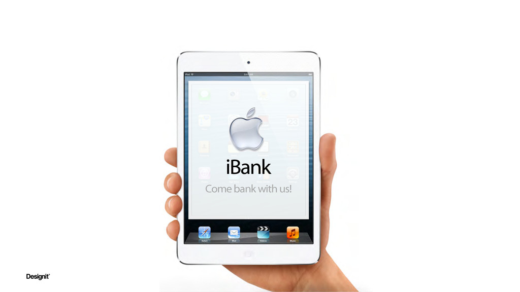 iBank Come bank with us!