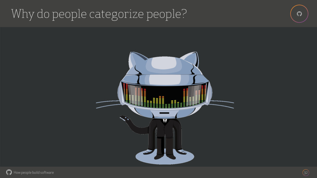 How people build software ! ! Why do people cat...