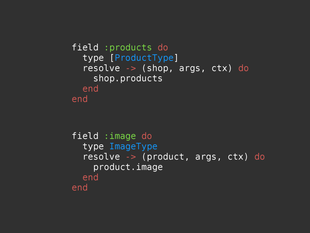 field :image do type ImageType resolve -> (prod...