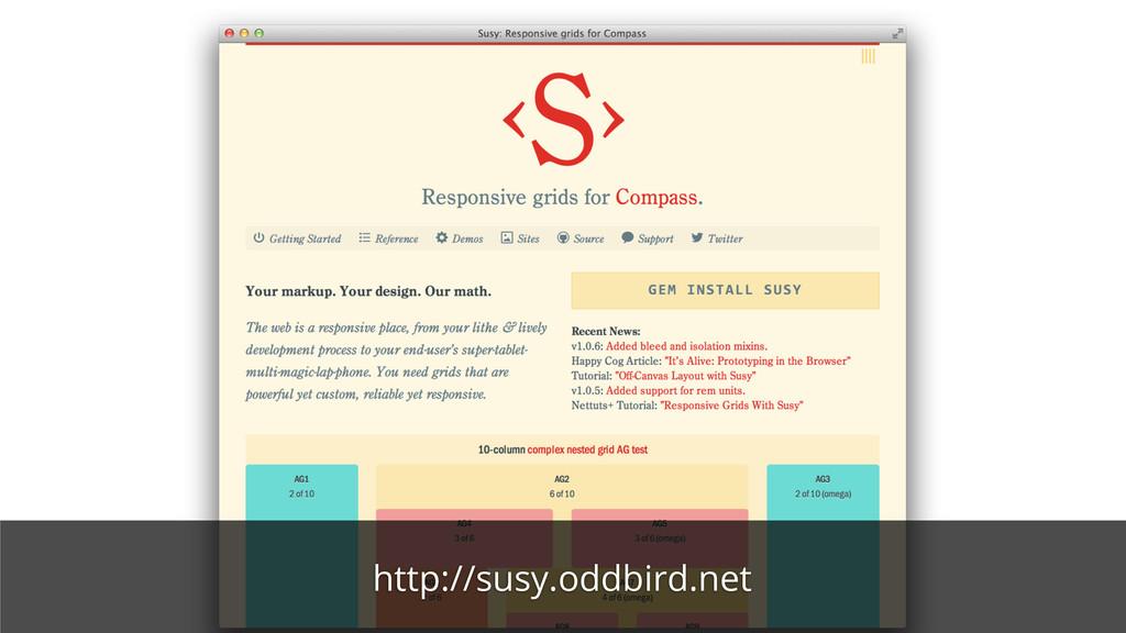 http://susy.oddbird.net