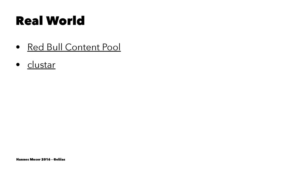 Real World • Red Bull Content Pool • clustar Ha...