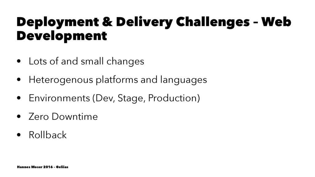 Deployment & Delivery Challenges – Web Developm...